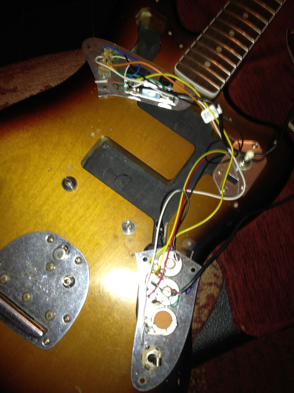 Fender Jaguar Switch Diagram Quick Start Guide Of Wiring Bass U00ae Forums U2022 View Topic Kurt Cobain Schematic