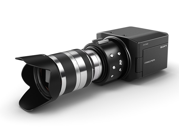Sony NXCAM HD S35 35mm lens fitted