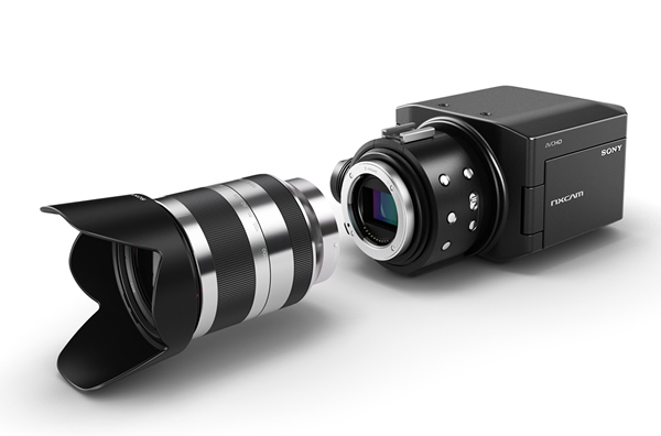 Sony NXCAM HD S35 35mm lens off