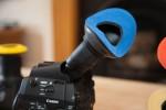 Bluestar eye cushion fitted to Canon C300