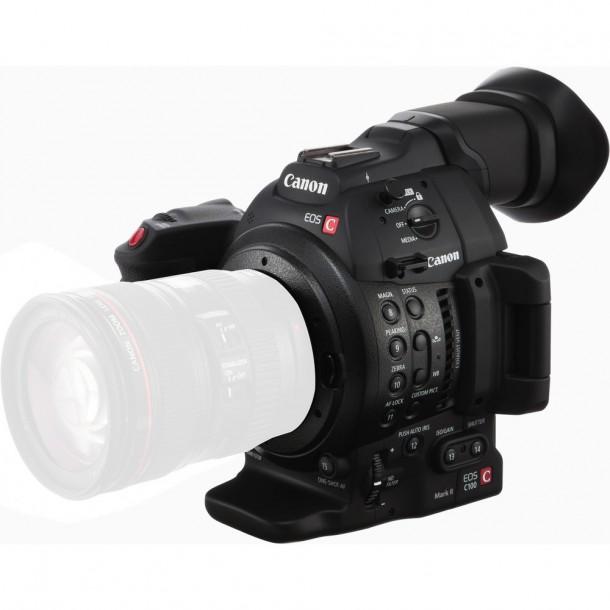 Canon EOS C100 mark ii front