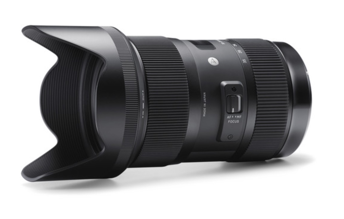 sigma 18 35 f 1 8 art lens for video paul joy