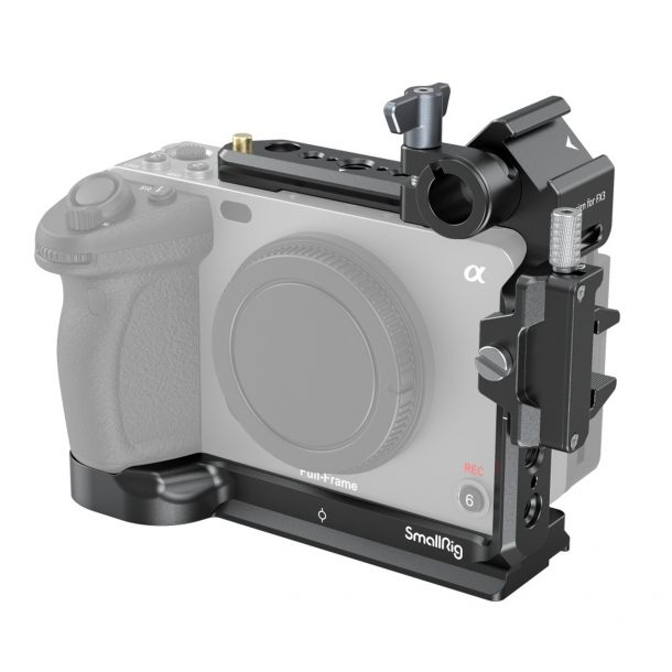 SmallRig FX3 Half Cage Review - Product image