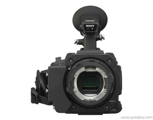 Sony PMW-F3 - front view