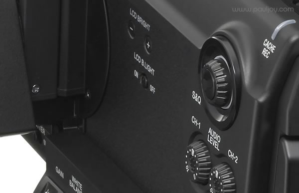 Sony PMW-F3 - LCD controls