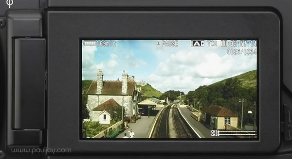 Sony PMW-F3 - LCD