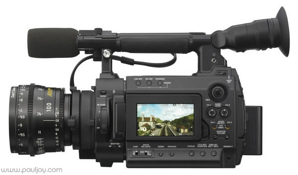 Sony PMW-F3 - Left Side