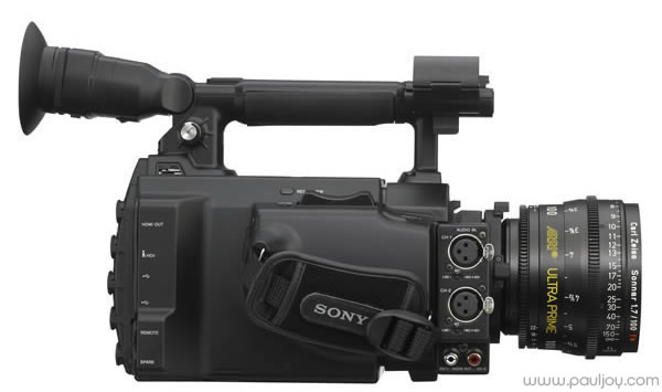 Sony PMW-F3 - right side