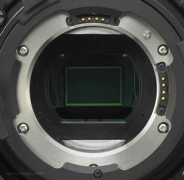Sony PMW-F3 - sensor & mount